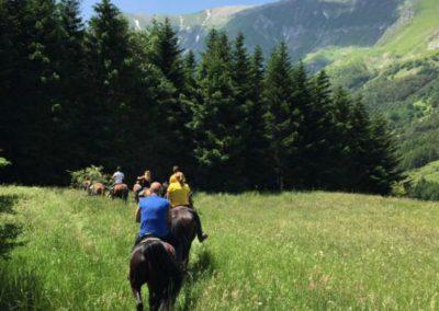 Weekend del Cavallo all Agriturismo La Cittadella di Montemonaco10