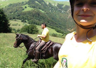 Weekend del Cavallo all Agriturismo La Cittadella di Montemonaco4