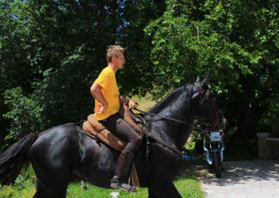 Weekend del Cavallo all Agriturismo La Cittadella di Montemonaco40