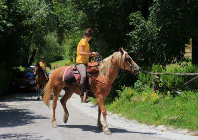 Weekend del Cavallo all Agriturismo La Cittadella di Montemonaco42