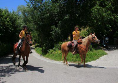 Weekend del Cavallo all Agriturismo La Cittadella di Montemonaco43