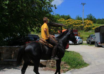 Weekend del Cavallo all Agriturismo La Cittadella di Montemonaco49