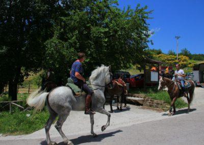 Weekend del Cavallo all Agriturismo La Cittadella di Montemonaco50