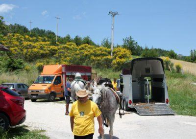 Weekend del Cavallo all Agriturismo La Cittadella di Montemonaco53