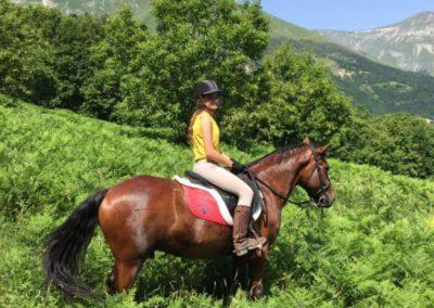 Weekend del Cavallo all Agriturismo La Cittadella di Montemonaco6