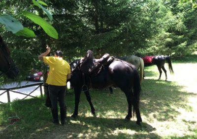 Weekend del Cavallo all Agriturismo La Cittadella di Montemonaco71