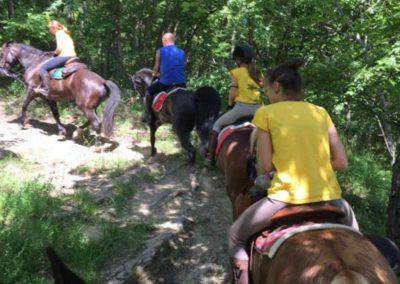 Weekend del Cavallo all Agriturismo La Cittadella di Montemonaco9