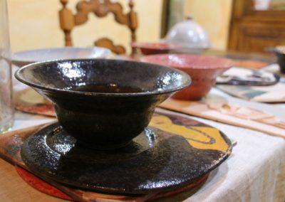 Le ceramiche di Paolo Nannini all'Agriturismo la Cittadella