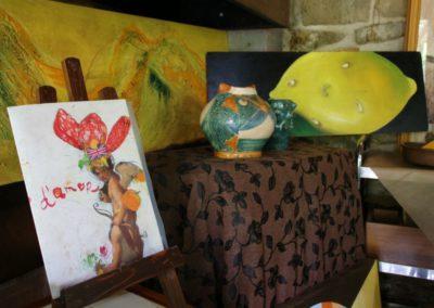 Le ceramiche di Paolo Nannini all'Agriturismo la Cittadella5