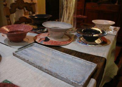 Le ceramiche di Paolo Nannini all'Agriturismo la Cittadella6