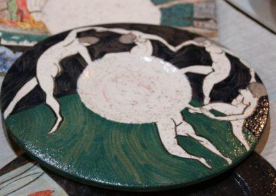 Le ceramiche di Paolo Nannini all'Agriturismo la Cittadella7