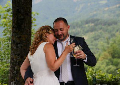 Matrimonio all'Agriturismo La Cittadella di Montemonaco sui Monti Sibillini